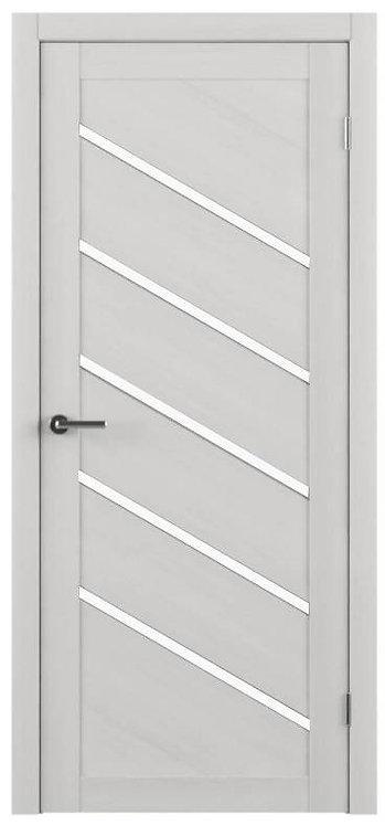 Альберо Тренд Т-11 межкомнатная дверь белое стекло