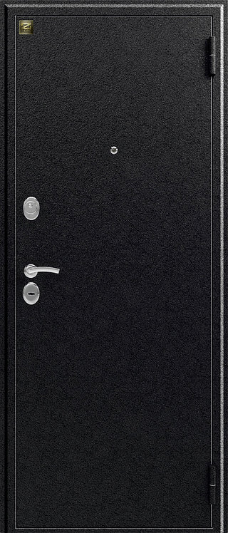 Зевс Z-4 входная дверь черное серебро