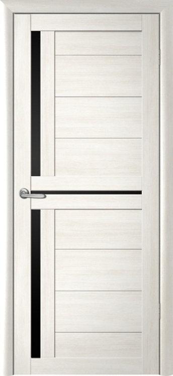 Альберо Мегаполис Кельн межкомнатная дверь черное стекло