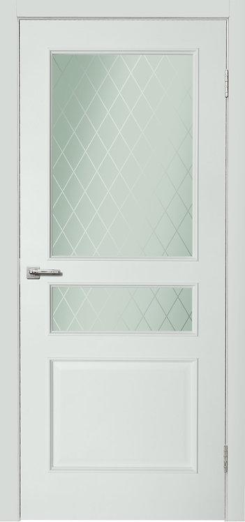 Дера Нордика межкомнатная дверь 1158 со стеклом