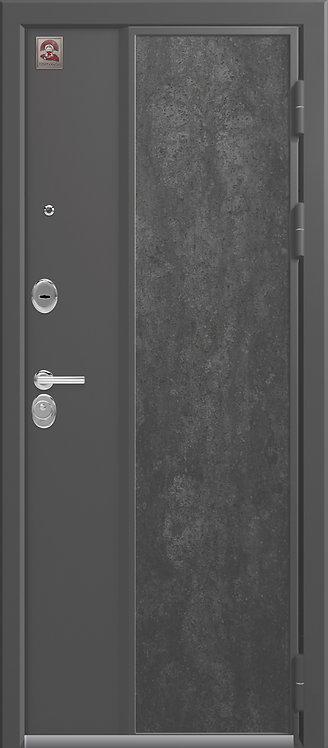 Центурион LUX-7 входная дверь серый шелк