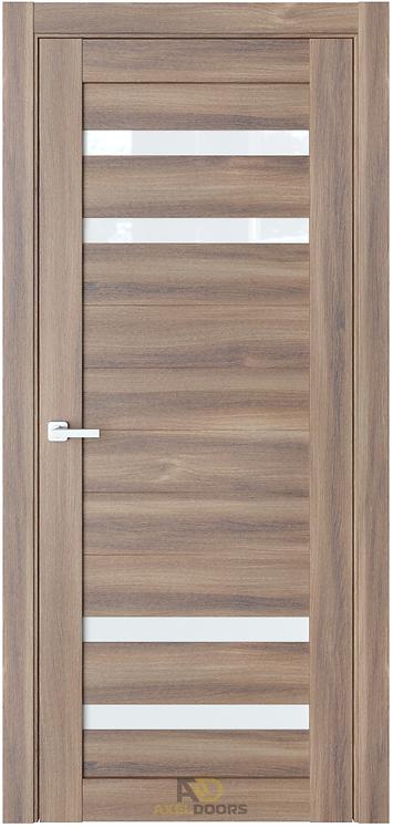 AxelDoors ЧДК O20 межкомнатная дверь с матовым стеклом