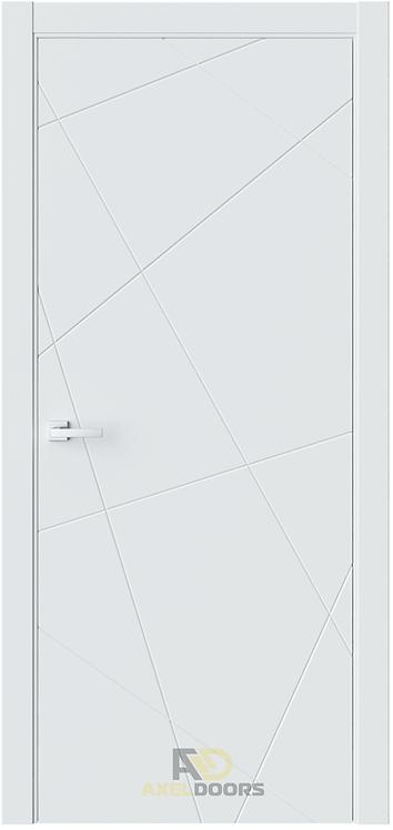AxelDoors ЧДК P1 межкомнатная дверь без стекла