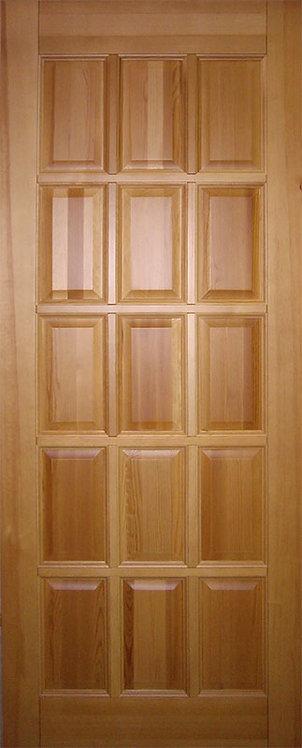 Межкомнатная дверь K-1 из массива сосны