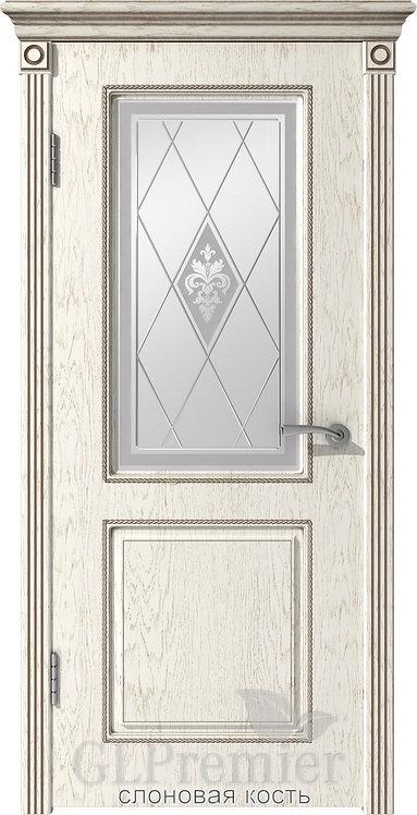 ВФД Премьер 22 межкомнатная дверь со стеклом