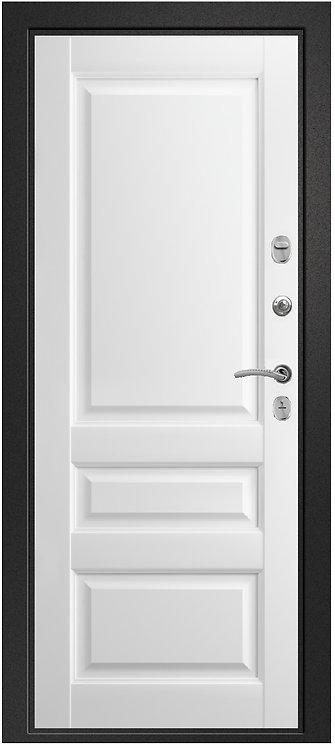 Ретвизан Ника 121 (софт-айс) входная дверь черный сатин