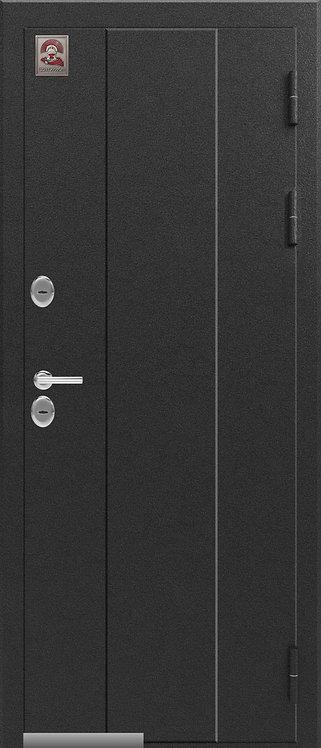 Центурион Т-4 входная дверь черный муар