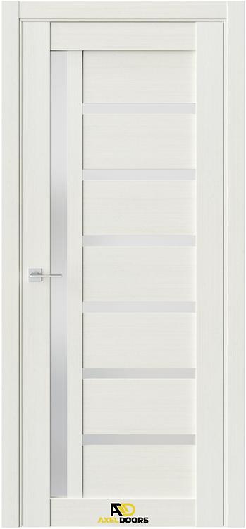 AxelDoors Q 8 межкомнатная дверь с матовым с