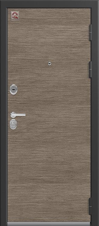 Центурион LUX-8 входная дверь черный шелк