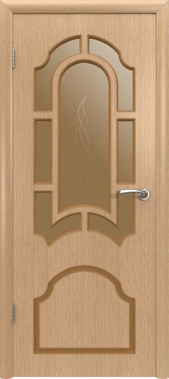 ВФД Кристал межкомнатная дверь со тсеклом