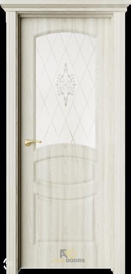AxelDoors ЧДК Изабель межкомнатная дверь со стеклом