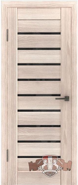 ВФД Лайн Л3ПГ1 межкомнатная дверь с черным стеклом