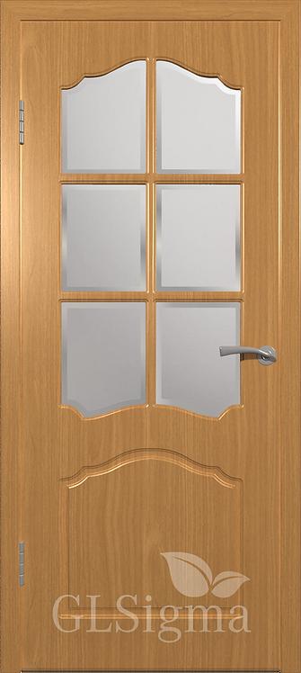 ВФД Сигма Лидия межкомнатная дверь со стеклом