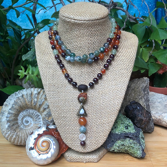 ∞ SoulCustom ∞ Signature Drop Mala Beads