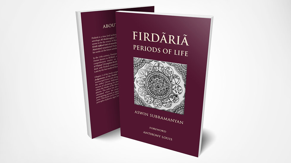 Firdaria - Periods of Life