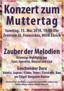 Konzert zum Muttertag