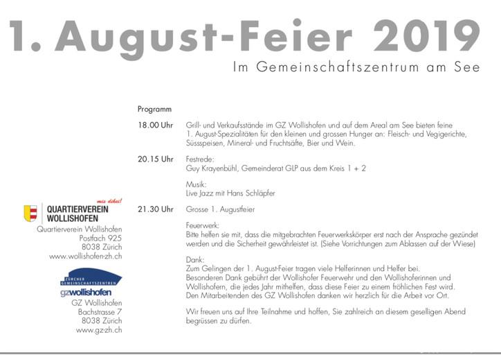 1. August-Feier 2019
