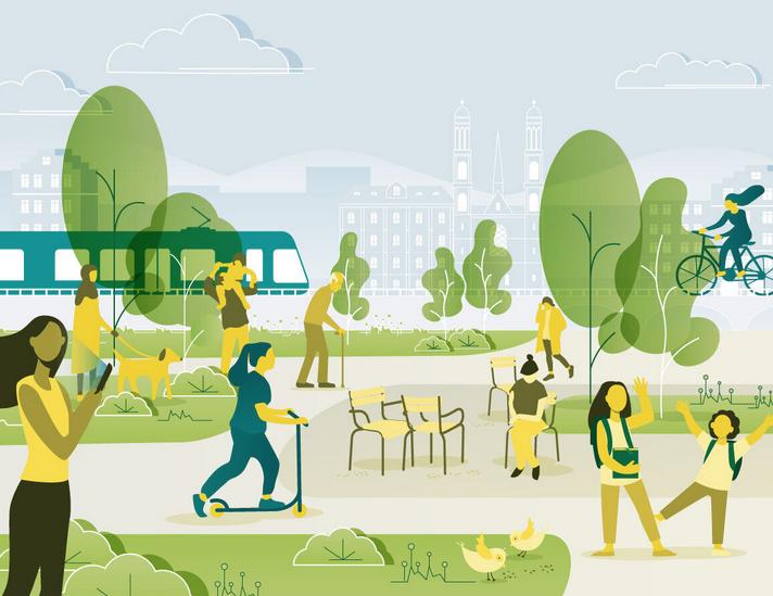 Mobilität und Stadträume 2050 - Mitwirkungsverfahren der Stadt Zürich
