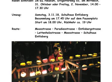 Räbeliechtli-Umzug 3.11.18