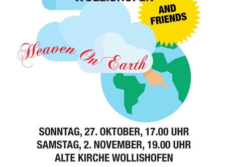 """""""Heaven On Earth"""", so lautet das diesjährige Motto der Gospel Singers Wollishofen!"""