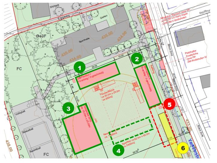 Schulraumplanung und Bauprojekte in Wollishofen
