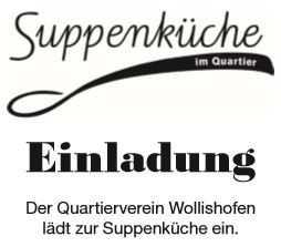Suppenküche des Quartierverein Wollishofen