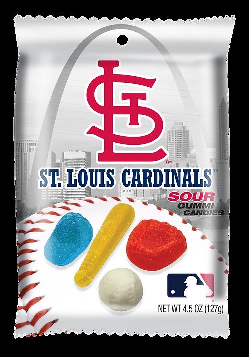 Cardinals Sour Gummies (12 pk)