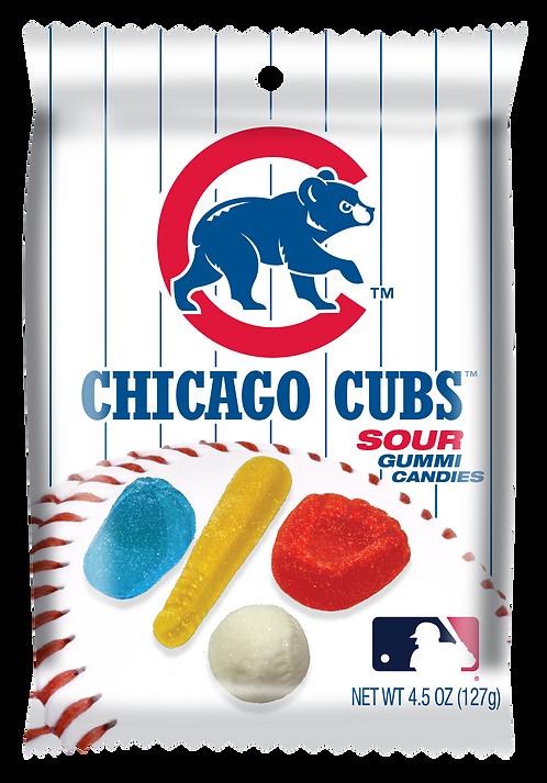 Cubs Sour Gummies (12 pk)