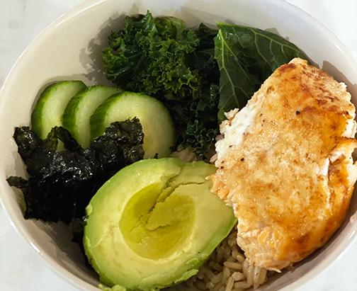 Build Your Own Salmon Bowl