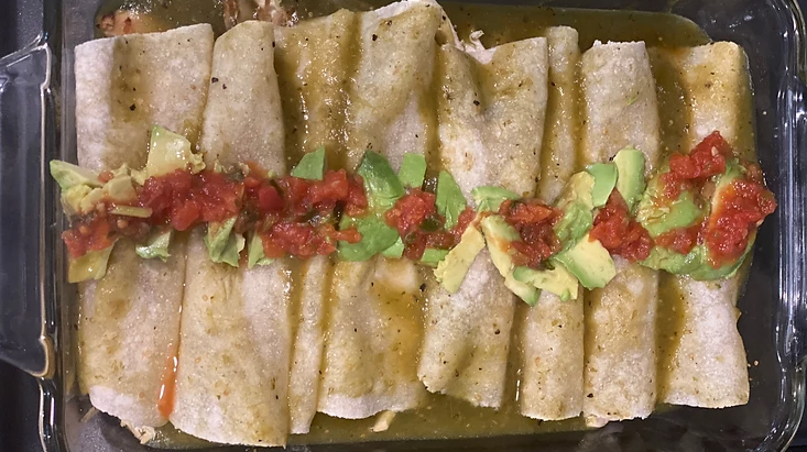 Delicious Gluten and Dairy Free Enchiladas