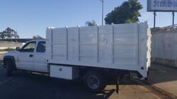 Silverado Dump Truck Side