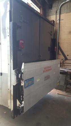 Aluminum Rail Gate Step Van 2