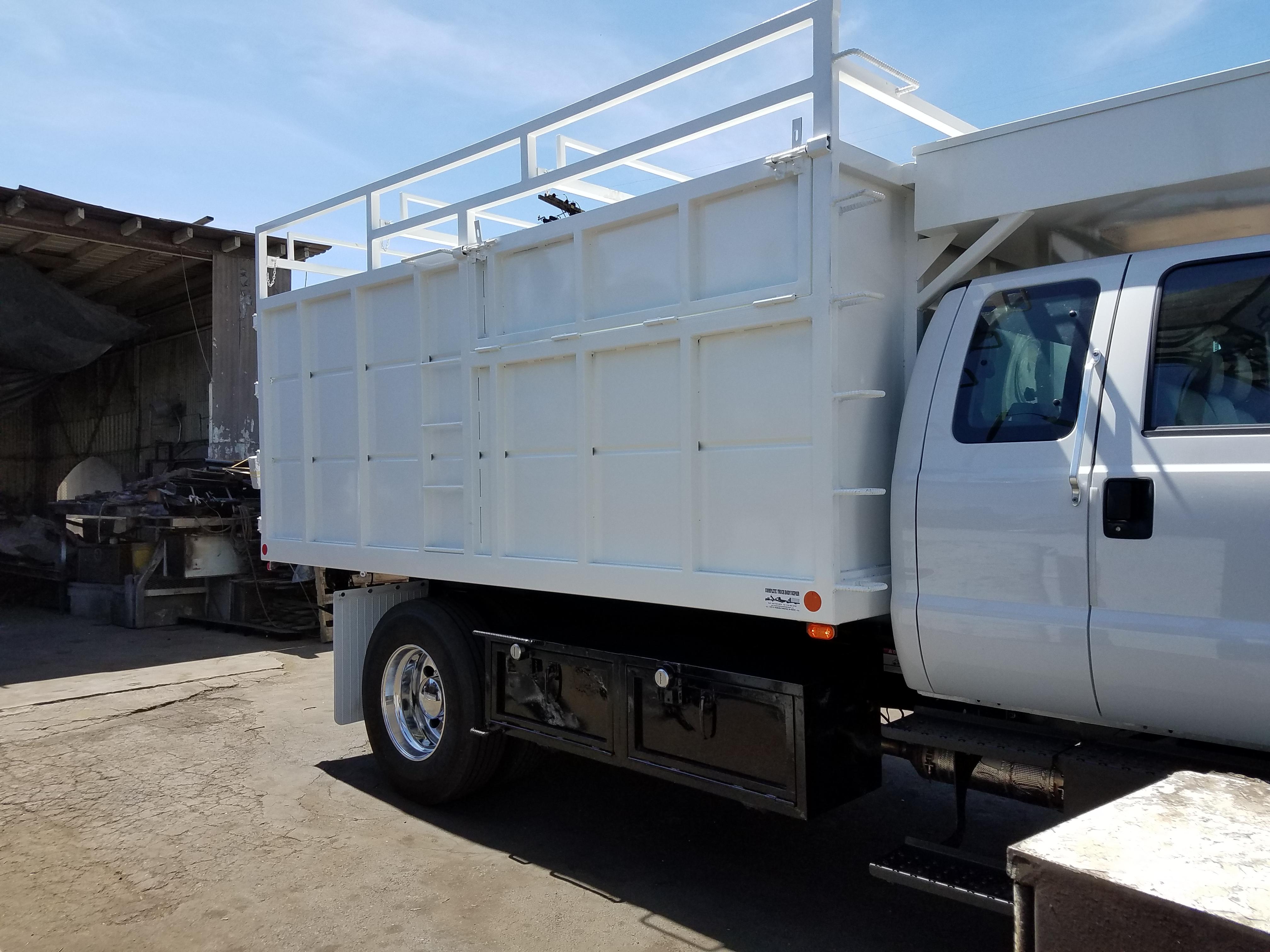 Custom Dump Truck Example 1