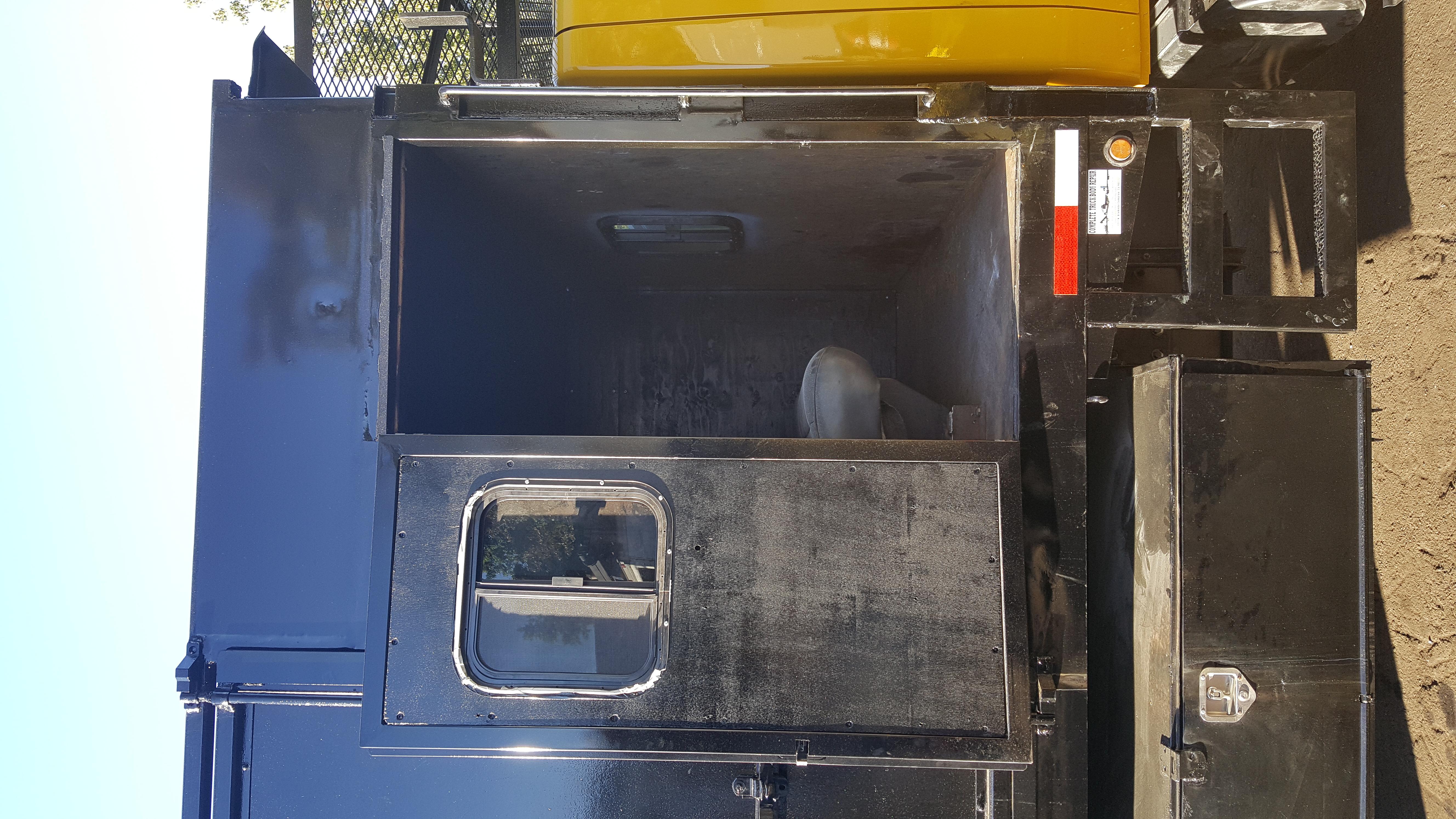 Modification of Dump Truck Body