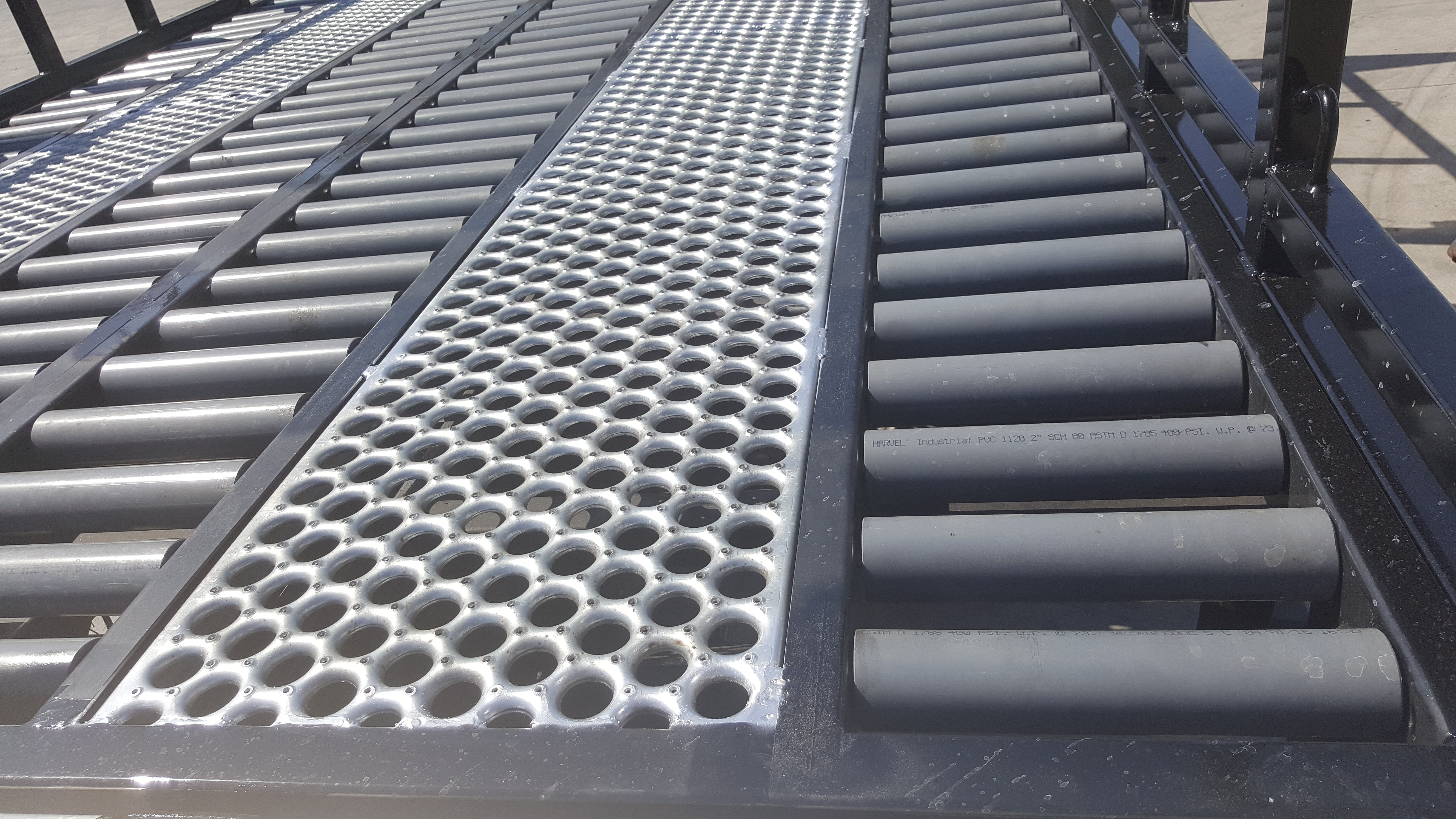 Custom Flooring for Stakebed
