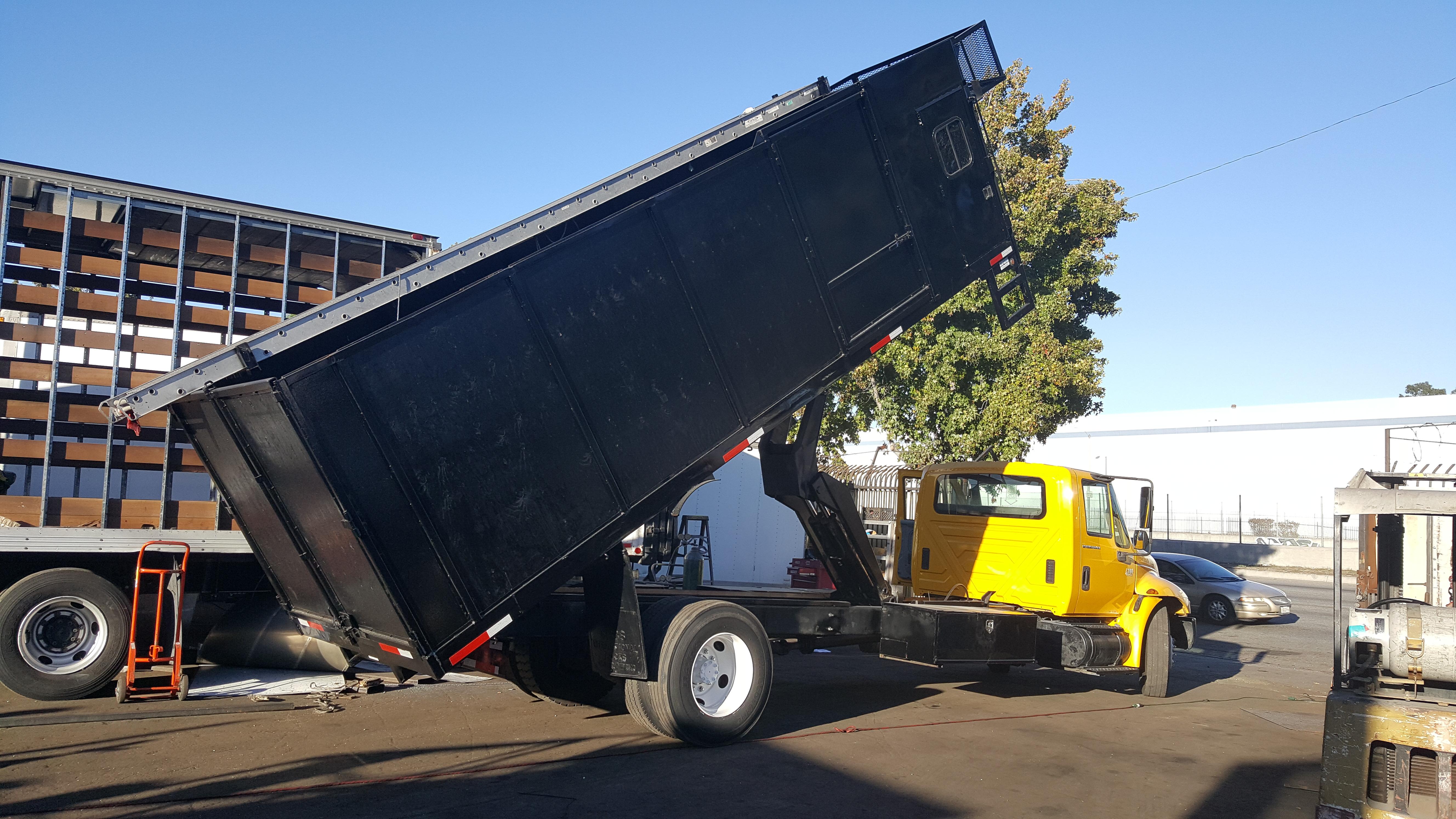 Large Dump Truck Body