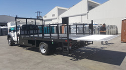 Liftgate on Stakebed