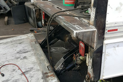 Used Liftgate Before Refurbishment