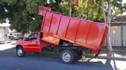 Red Dump Truck Body 2