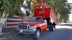 Red Dump Truck Body