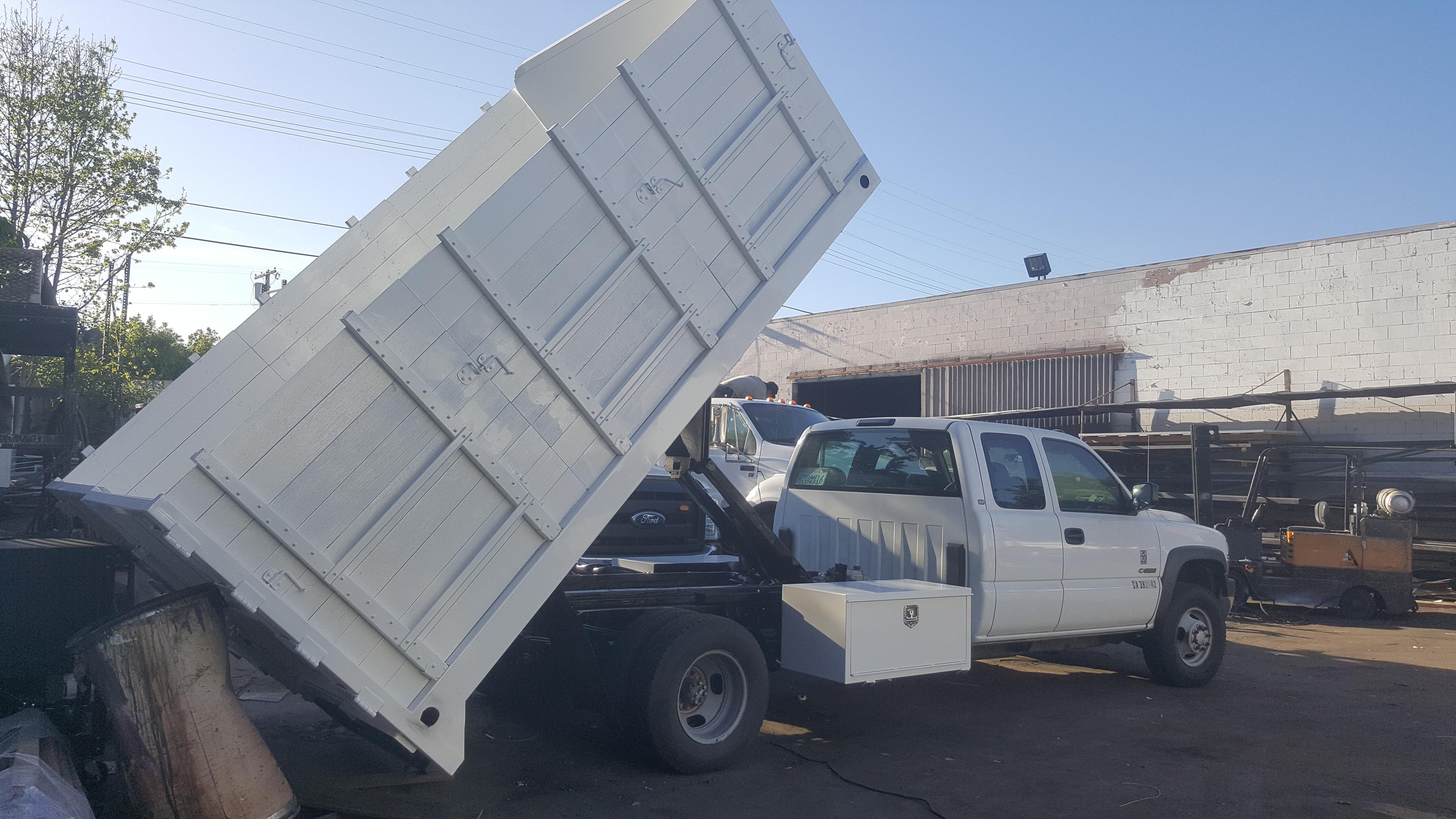 Silverado Dump Truck Side 4