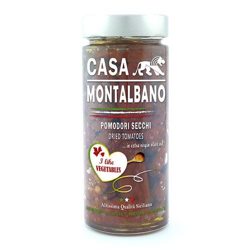 CASA MONTALBANO - Pomodori Secchi in Olio EVO