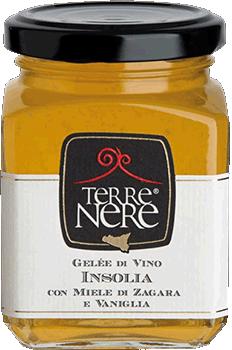 TERRE NERE - Gelée di Vino Insolia con Miele di Zagara e Vaniglia