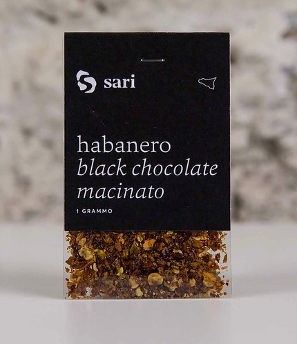 SARI - Habanero Black Chocolate Macinato