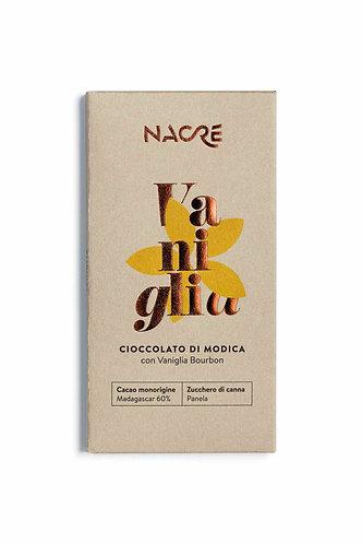 NACRE' - Cioccolato di Modica IGP Aromatizzato Vaniglia Bourbon
