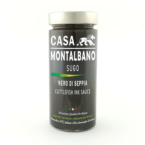 CASA MONTALBANO - Sugo al Nero di Seppia in Olio EVO