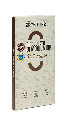 OROBRUNO - Cioccolato di Modica IGP 90% Cacao