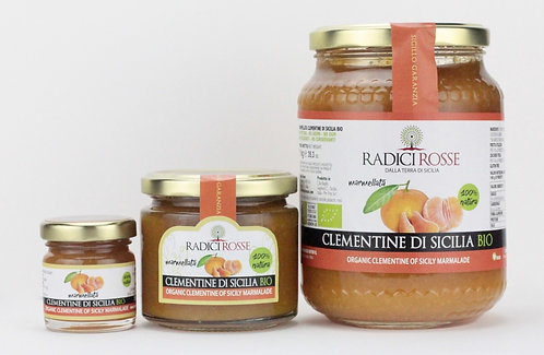 RADICI ROSSE - Marmellata Clementine di Sicilia BIO