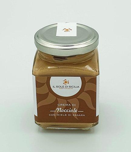 IL SOLE DI SICILIA - Crema di Nocciole con Miele di Zagara