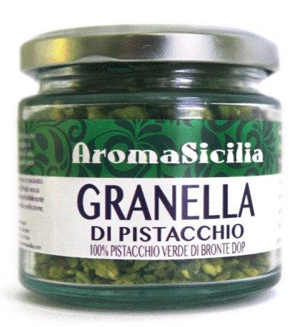 AROMA SICILIA - Granella di Pistacchio Verde di Bronte DOP